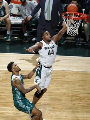 Nick Ward helps No. 9 Michigan State rout Green Bay