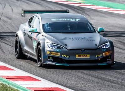 Electric GT race series takes Tesla's Ludicrous mode to the track