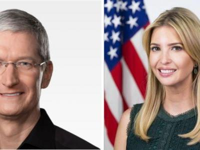 Tim Cook and Ivanka Trump Visiting Idaho School District Today