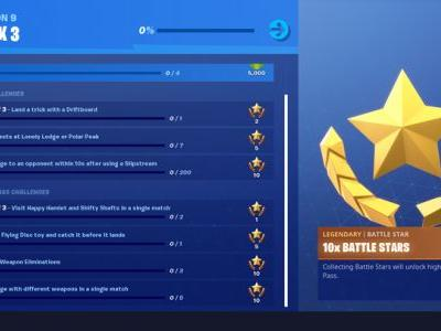 Fortnite Week 3 Challenge List: Flying Disc Toy, Driftboard Tricks, And More