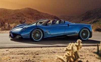Blown Away: Pagani Huayra Roadster Is Lighter Than the Coupe