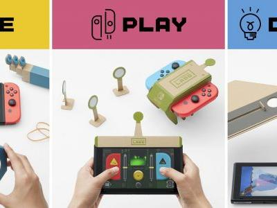 Review in Progress: Nintendo Labo - Variety Kit