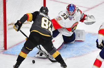 Panthers hot start not enough to overpower Golden Knights, fall 5-3