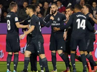 Benzema brace ends Real Madrid's horror run in win over Valladolid