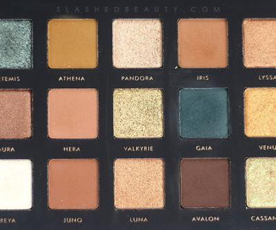 Alter Ego Goddess Eyeshadow Palette Review