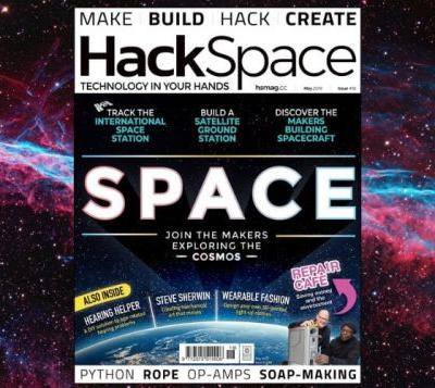 HackSpace issue 18 features DIY satellite, spacecraft support and more