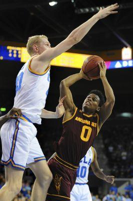 No. 3 UCLA routs Arizona State 102-80 behind 3-point barrage
