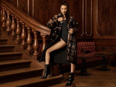 Bella Hadid Stars in the Kith x Versace Collaboration Campaign