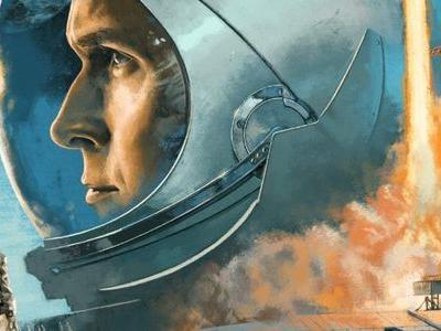 Mondo's 'First Man' Vinyl Features Gorgeous Artwork For Justin Hurwitz's Score