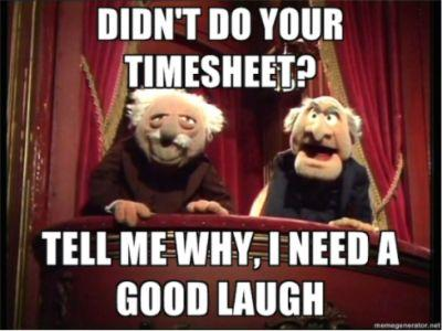 Timesheets - why ?
