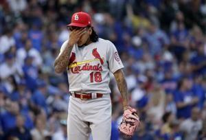 Cardinals place RHP Martinez on DL with oblique injury