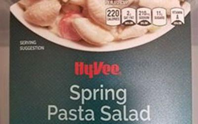 Hy-Vee pulls pasta salad after reports of 20 illnesses in 4 states