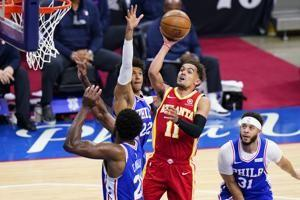 Hawks rally from 26 points down, stun 76ers in Game 5