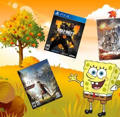 New game deals: Assassin's Creed Odyssey, Black Ops 4, and more