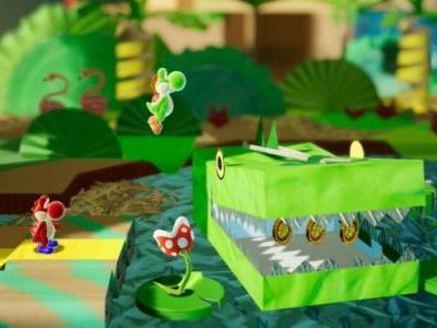 Switch's Yoshi Title Appears To Be Named Yoshi's Crafted World