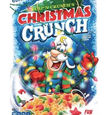 Cap'n Crunch's Christmas Crunch & Gingerbread Spice Life Cereals Are Back This Season