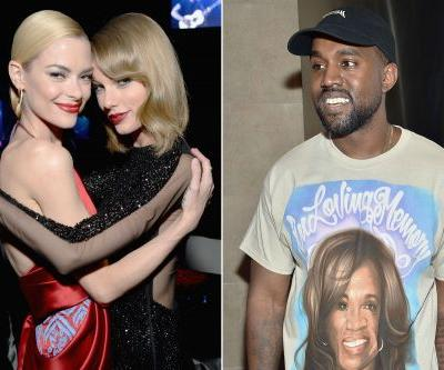 Jaime King stormed out of Kanye's fashion show over Swift diss