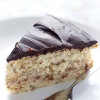 Vegan Boston Cream Pie