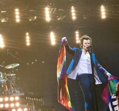 Harry Styles Is A Queer Icon, So When I Couldn't Go To The Pride Parade, I Went To His Concert