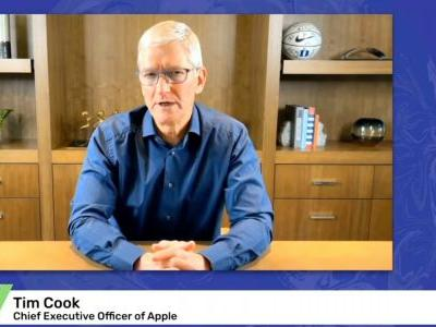 Tim Cook calls for 'carbon-neutral economy' in speech at UN Climate Ambition Summit