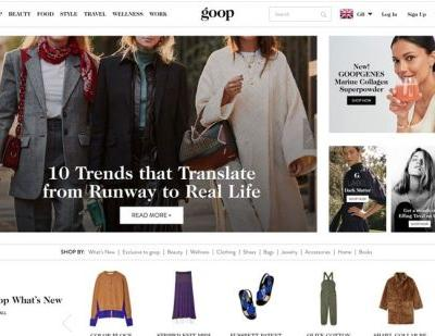Gwyneth Paltrow lifestyle company Goop in breach of UK advertising laws