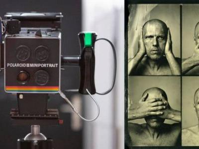 Wet Plate Collodion Passport Photos with a Polaroid Miniportrait Camera