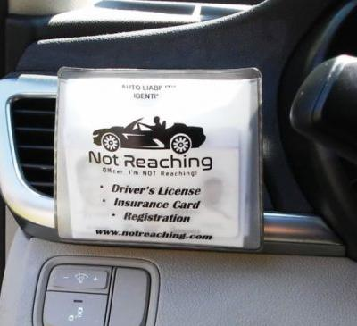 For Black Drivers, Traffic Stops Can Be a Matter of Life or Death. Can the 'Not Reaching' Pouch Make Them Safer?