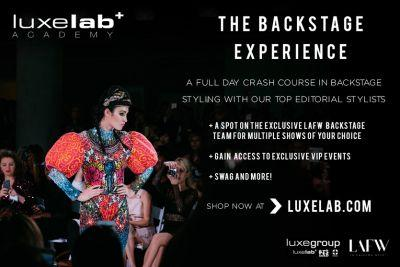 Win the Backstage LA Fashion Week Experience with LuxLab