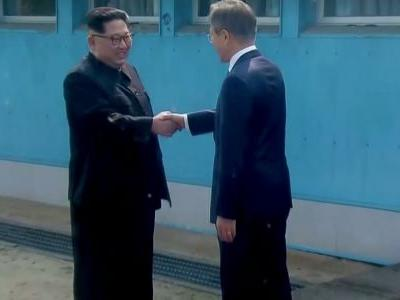 ROUND 1: South Korea's president meets with North Korea's Kim Jong Un in a historic summit