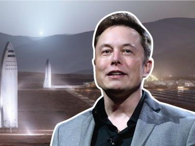 Elon Musk says SpaceX's Starship could reach orbit within 2 years - here's his latest photo of the spaceship's construction