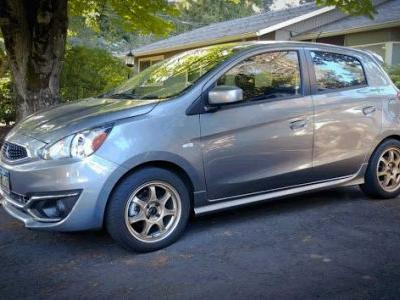Mitsubishi Mirage Side Sill Extensions Installed