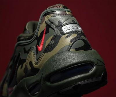 """Here's a First Look at the Supreme x Nike Air Max 96 """"Camo"""" Collaboration"""