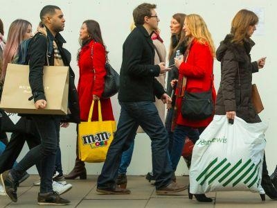 The number of people working in shops is collapsing
