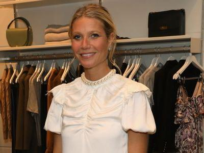 Gwyneth Paltrow wears white in first post-wedding appearance