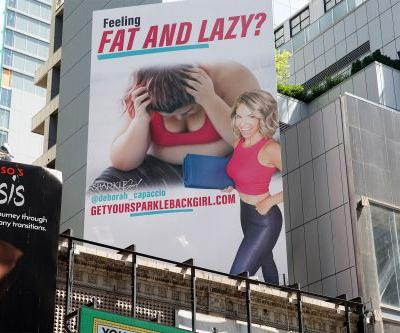 'Fat and lazy' billboard in Times Square stirs up body shaming controversy