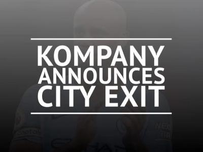 Kompany set to leave City