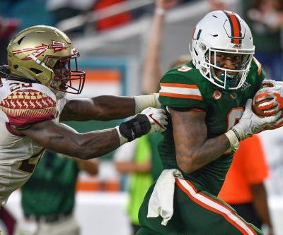 Miami vs. Florida State odds, prediction, betting trends for ABC's 'Saturday Night Football'