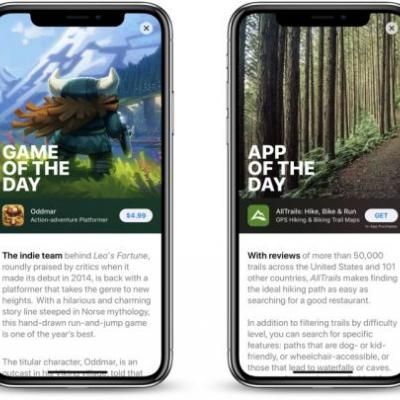 Featured Apps in Revamped iOS 11 App Store Can See 800% Download Boost