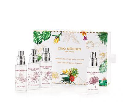 Cinq Mondes Launches Fresh Aromatic Sprays Holiday Collection