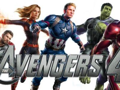 Original Avengers Assemble with Captain Marvel for End Game Fan Poster