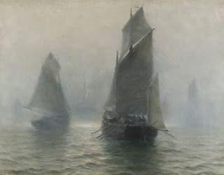 William Edward Norton, Sailing boats in the mist