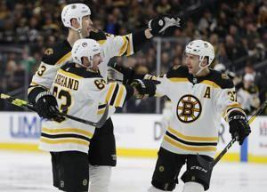 Backes scores shootout winner, Bruins top Golden Knights 3-2