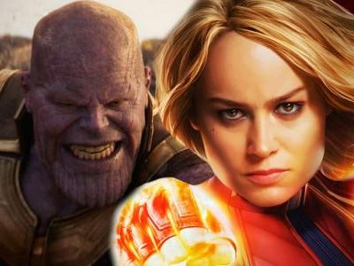 Captain Marvel Explains Why Carol Can Beat Thanos