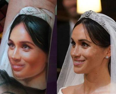 Meghan Markle's Wedding Makeup Was So Beautiful Someone Turned It Into Actual Art