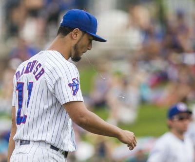 Yu Darvish's attempted Cubs comeback is immediate disaster