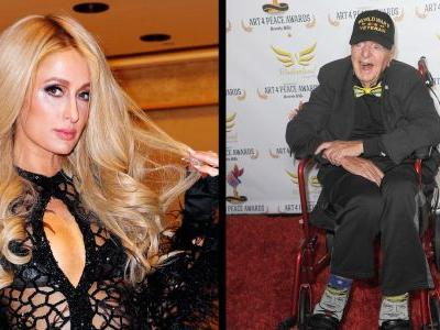 Paris Hilton Took a 100-Year-Old World War II Vet to a Lil Pump Performance