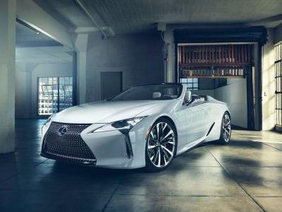 The Lexus LC Convertible Is Here To Fill Your Ears With N/A V8 Noise