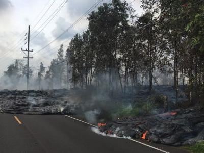 Hawaii lava threatens to trap residents as volcanic haze reaches Guam
