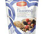 Scientists warn too much of 'superfood' porridge topping flaxseed 'could cause cyanide poisoning'