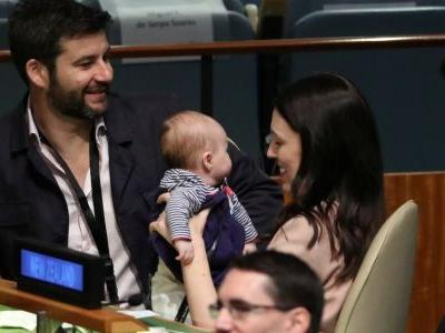 The New Zealand prime minister is the first world leader to bring her baby to the UN - and the internet can't get enough